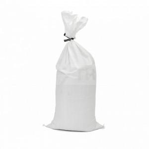 White sandbag